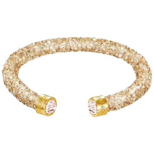 Bransoletka SWAROVSKI - Crystaldust Cuff, Golden 5250067