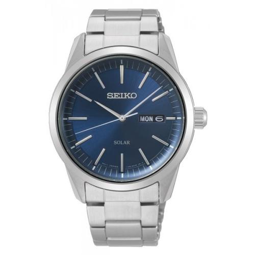 Zegarek Seiko SNE525P1 Solar Classic Day-Date