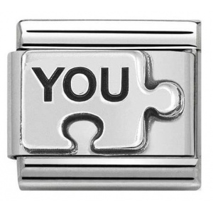Nomination - Link 925 Silver 'Puzzle YOU' 330101/40