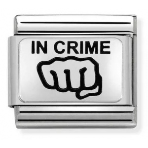Nomination - Link 925 Silver 'In Crime Fist' 330109/21