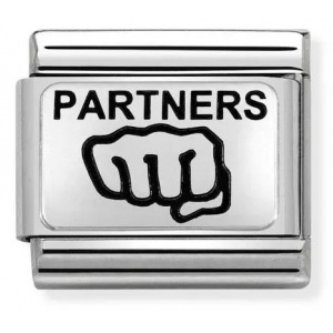 Nomination - Link 925 Silver 'Partners Fist' 330109/20