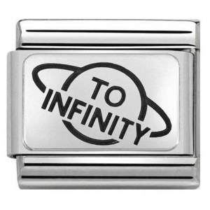 Nomination - Link 925 Silver 'To Infinity Planet' 330109/24