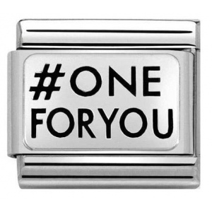 Nomination - Link 925 Silver 'One For You' 330109/29
