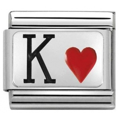 Nomination - Link 925 Silver 'Król Kier' 330208/28