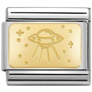 Nomination - Link 18K Gold 'Ufo' 030153/20