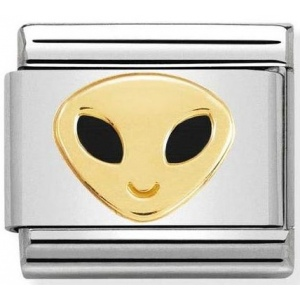 Nomination - Link 18K Gold 'Alien 1' 030272/49