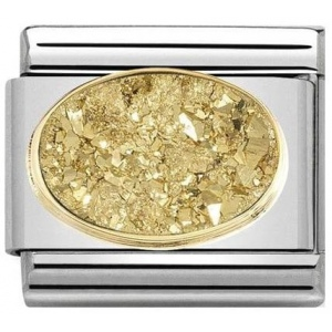 Nomination - Link 18K Gold 'Gold Dust' 030518/02