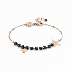 Bransoletka Nomination Rose Gold - Melodie Bracelet With Heart And Star 147700/022