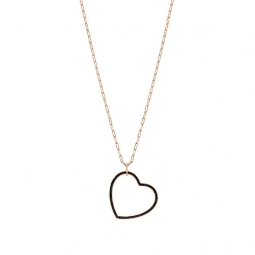 Naszyjnik Nomination Rose Gold - Emozioni Necklace With Heart Pendant 147803/002