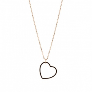 Naszyjnik Nomination Rose Gold - Emozioni Necklace With Heart Pendant 147813/002