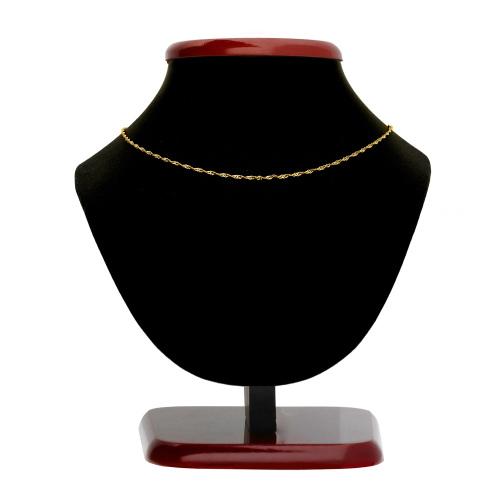Złoty Łańcuszek Singapur 40cm pr. 585