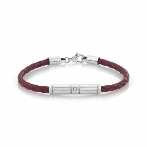 Bransoletka Nomination - Tribe Bracelet In Vintage Effect Leather 026420/002