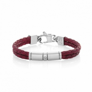 Bransoletka Nomination - Double Tribe Bracelet In Coloured Leather 026421/002