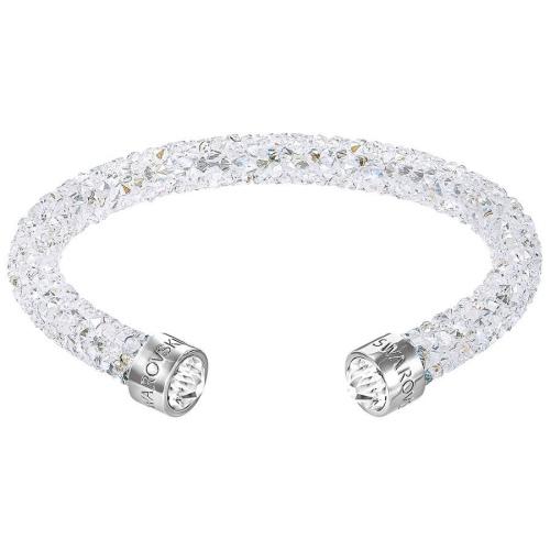 Bransoletka SWAROVSKI - Crystaldust Cuff, White 5255899 S