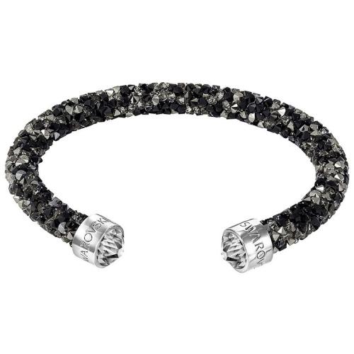 Bransoletka SWAROVSKI - Crystaldust Cuff, Dark Crystals 5250065
