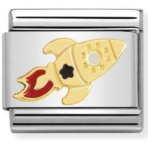 Nomination - Link 18K Gold 'Rocket Ship' 030272/48