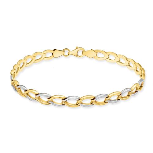 Złota Bransoletka 20cm pr. 585