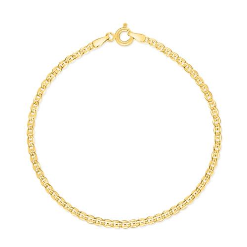 Złota Bransoletka Gucci 21cm pr.585