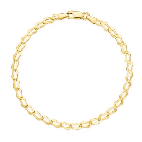 Złota Bransoletka 22cm pr.585