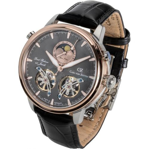 Zegarek Carl von Zeyten CVZ0060RGU Durbach Dual Balance