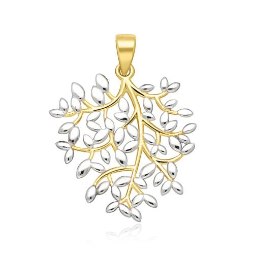 Złota zawieszka - Drzewko pr.333