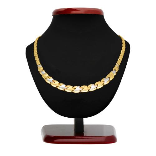 Złoty naszyjnik - Kolia 45cm pr.585