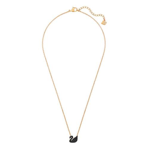 Naszyjnik Swarovski - Iconic Swan Small, Rose Gold 5204133