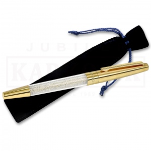 Długopis Swarovski - Crystalline Stardust Rollerball, Gold Tone Plated 5296368