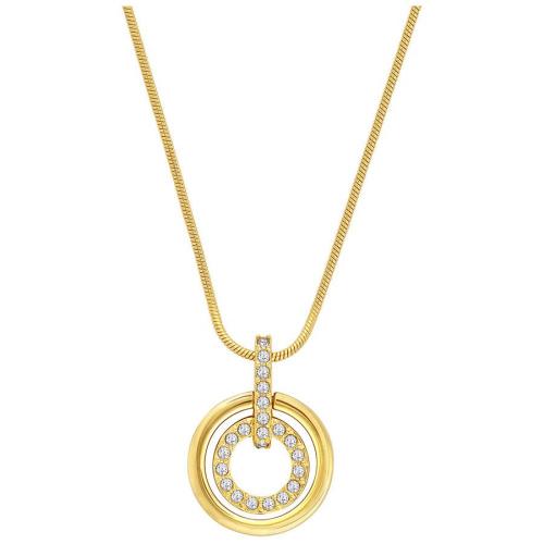 Naszyjnik SWAROVSKI - Circle Gold 1081977