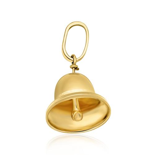 Złota zawieszka - Dzwoneczek pr.333