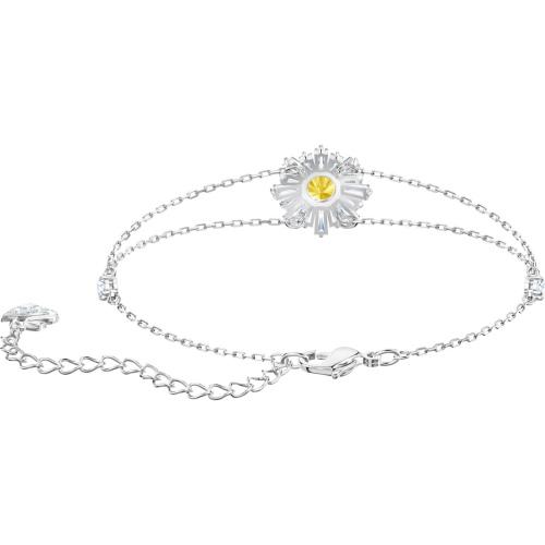 Bransoletka SWAROVSKI - Sunshine, Rose gold 5451357