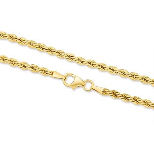 Złoty łańcuszek - Kordel 45cm pr.333