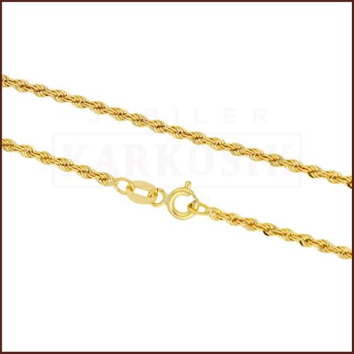 Złoty Łańcuszek Kordel 42cm pr. 333