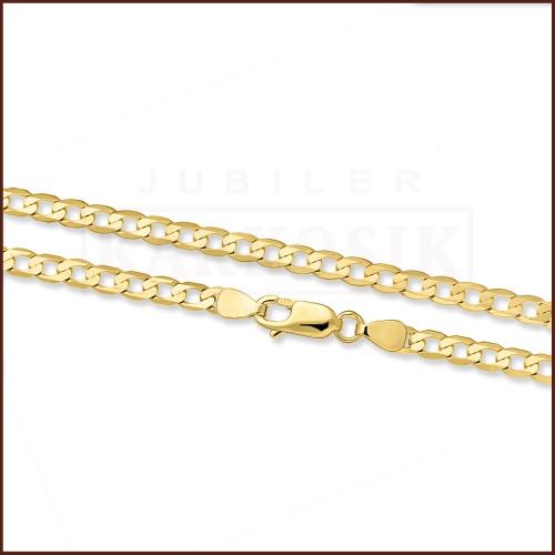 Złoty Łańcuszek Pancerka 60cm pr. 333