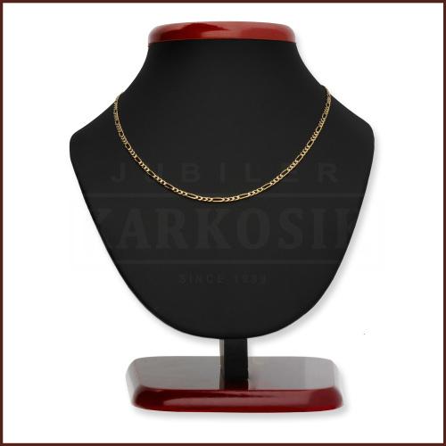 Złoty Łańcuszek Figaro 55cm pr. 585