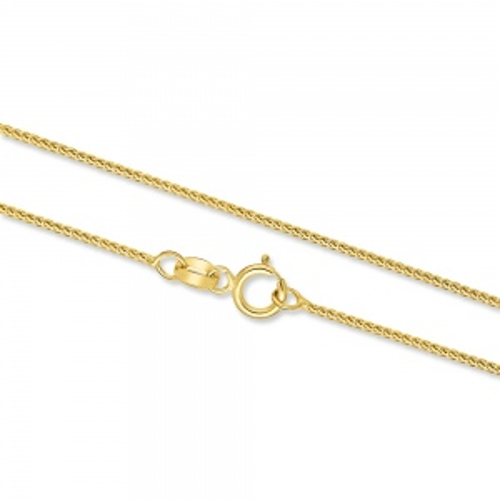 Złoty Łańcuszek Lisi Ogon 70cm pr. 585