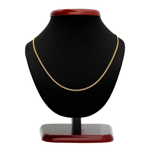 Złoty Łańcuszek Pancerka 55cm pr.585