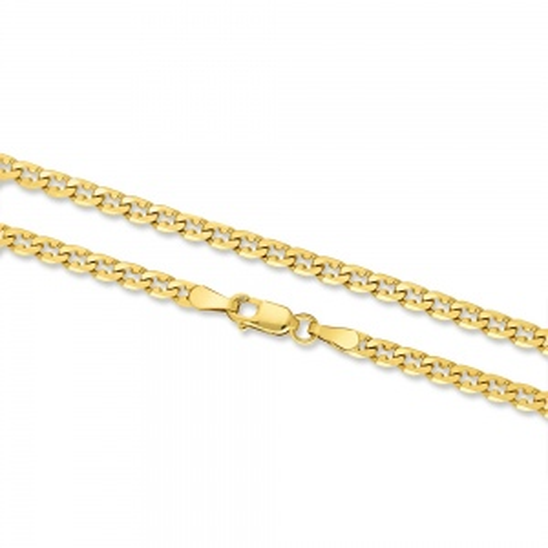 Złoty Łańcuszek Pancerka 45cm pr. 585