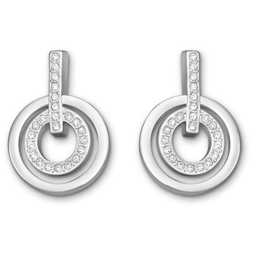 Kolczyki SWAROVSKI - Circle Silver Mini  5007750
