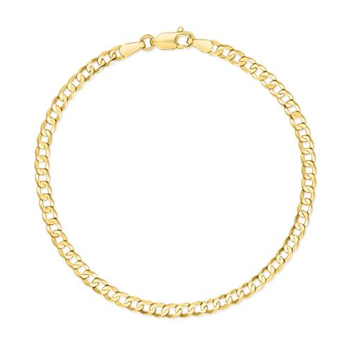 Złota Bransoletka Pancerka 20cm pr.585