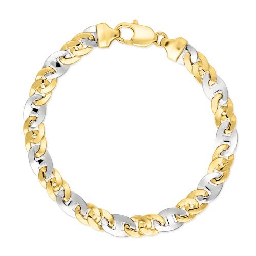 Złota bransoletka 21cm pr.585