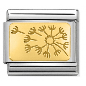 Nomination - Link 18K Gold 'Dandelion Clock' 030153/21