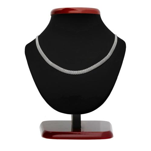 Srebrny naszyjnik - 40cm pr.925