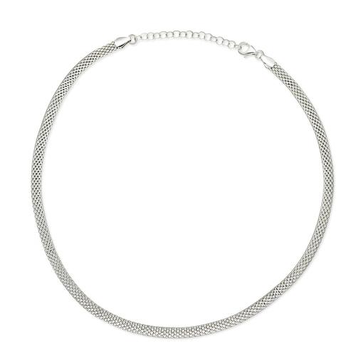 Srebrny naszyjnik - 50cm pr.925
