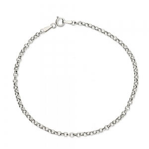 Srebrna bransoletka - Ankier 19cm pr.925