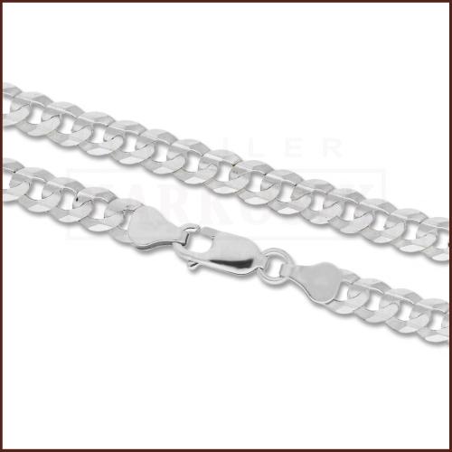 Srebrny łańcuszek - Pancerka 50cm pr.925