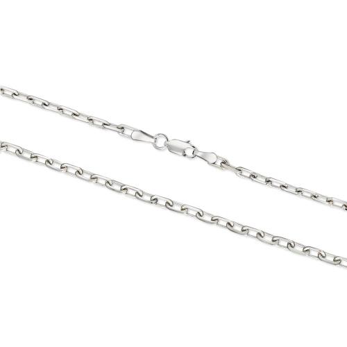 Srebrny łańcuszek - Ankier 60cm pr.925