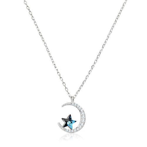 Srebrny naszyjnik z cyrkoniami  - Gwieździste Niebo pr.925