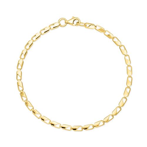 Złota bransoletka 18cm pr.333