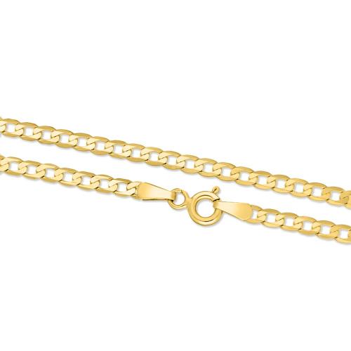 Złoty łańcuszek - Pancerka 50cm pr.585